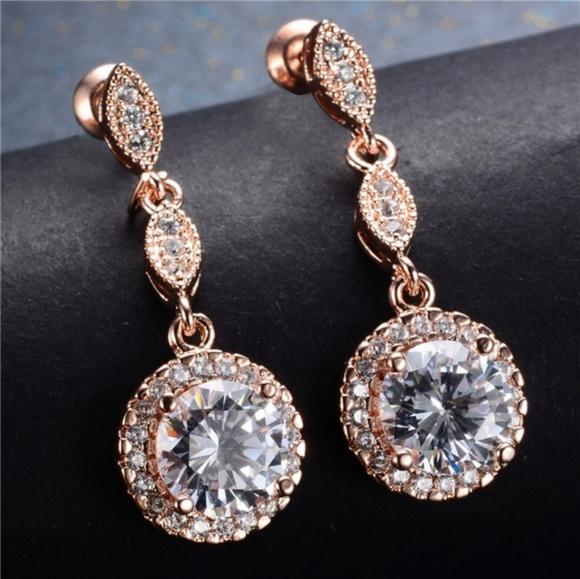f95b648a3 Jewelry | White Sapphire Set In 14k Rose Gold | Poshmark